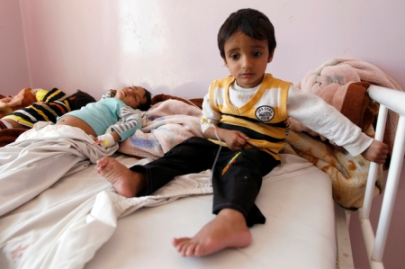 YEMEN-CONFLICT-HEALTH-CHOLERA-WHO