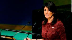 Nikki Haley UN CNN