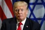 Trump UsIsrael flags