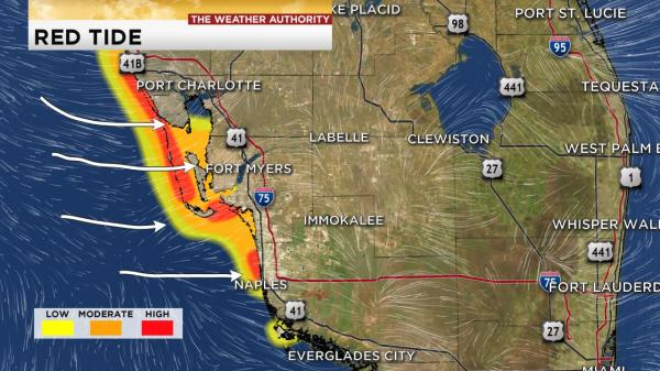Red tide map winknews com